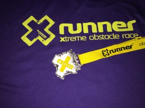 Tshirt and medal for my efforts